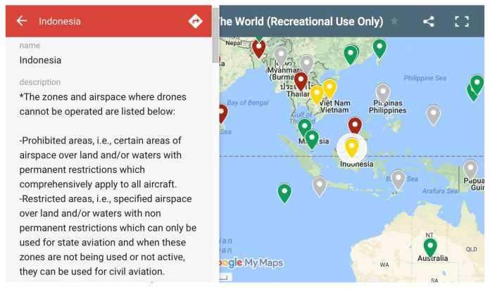 Screenshot of the Google Map which became the reference of Drone Mate </figcaption data-recalc-dims=