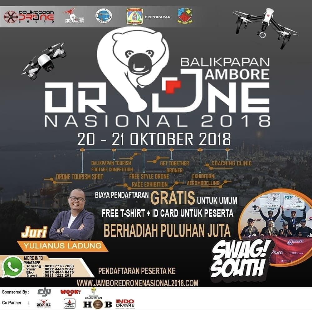 Poster Jambore Drone Nasional 2018