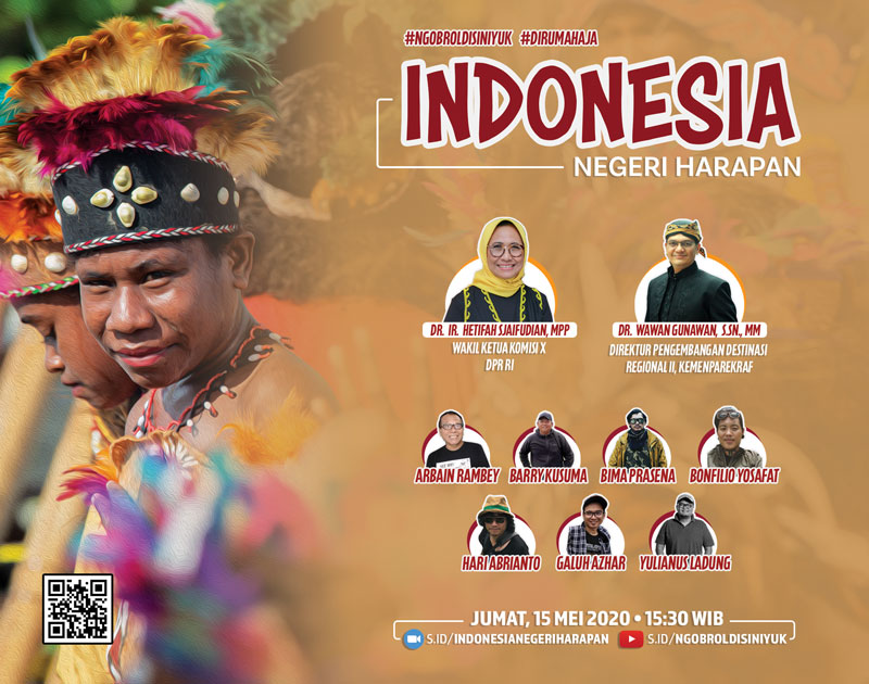 Flyer Indonesia Negeri Harapan