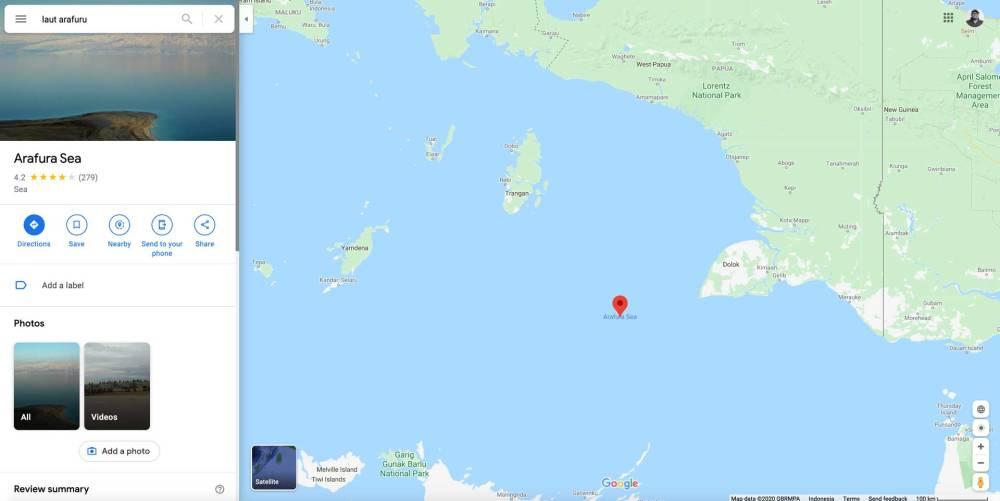 Laut Arufu